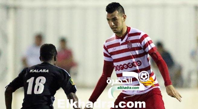 هشام بلقروي مدافع النادي الافريقي التونسي يقترب من الرائد السعودي 25