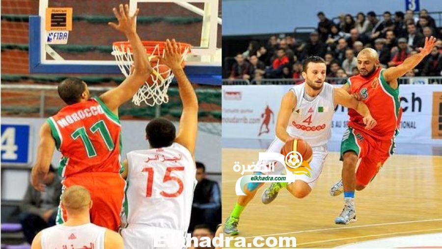 اقصاء الجزائر من بلوغ نهائيات أمم إفريقيا لكرة السلة بعد الخسارة من المغرب 84-71 في سلا 25