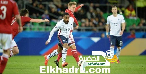 المنتخب الفرنسي يفوز ودياً على ضيفه المنتخب الدنماركي بهدفين دون رد