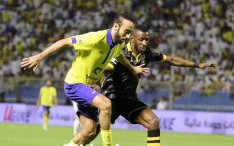 النصر أمام الاتحاد في الدوري السعودي
