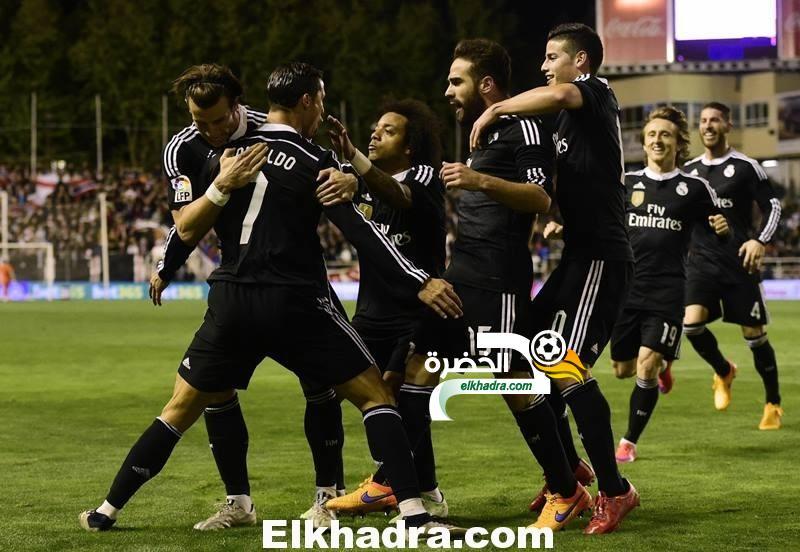 رونالدو يقود ريال مدريد للفوز على رايو فاليكانو بهدفين 41