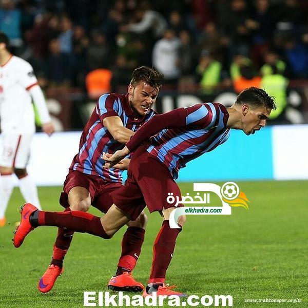 مجاني يقود طرابزون للفوز على غالاتا ساراي و حرمانه من صدارة الدوري التركي 28