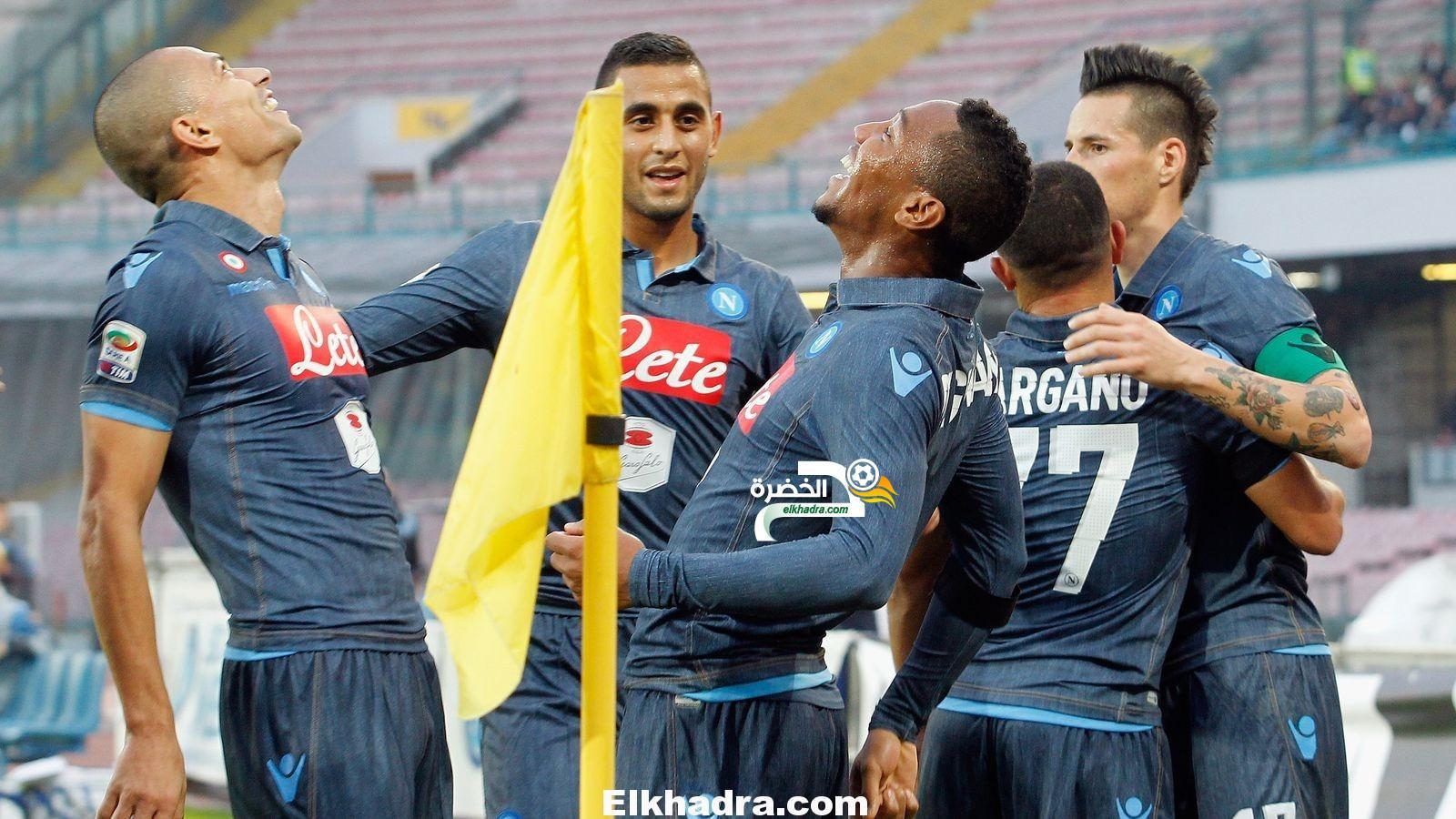 غولام ونابولي يسقطان برباعية أمام مضيفه إمبولي في الدوري الايطالي 29