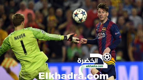 ميسي يقود برشلونة للتغلب على بايرن ميونيخ في ذهاب نصف نهائي دوري أبطال أوروبا 32
