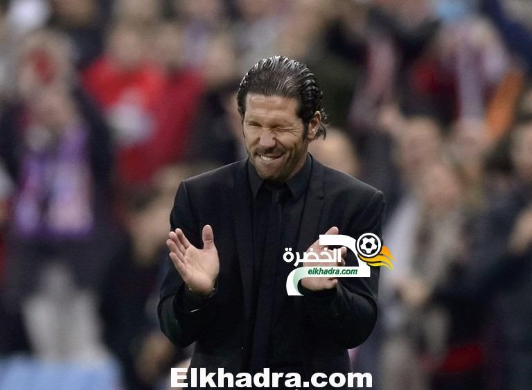 دييجو سيميوني : سنفوز ببطولة الليجا بعد اعتزال ميسي 33