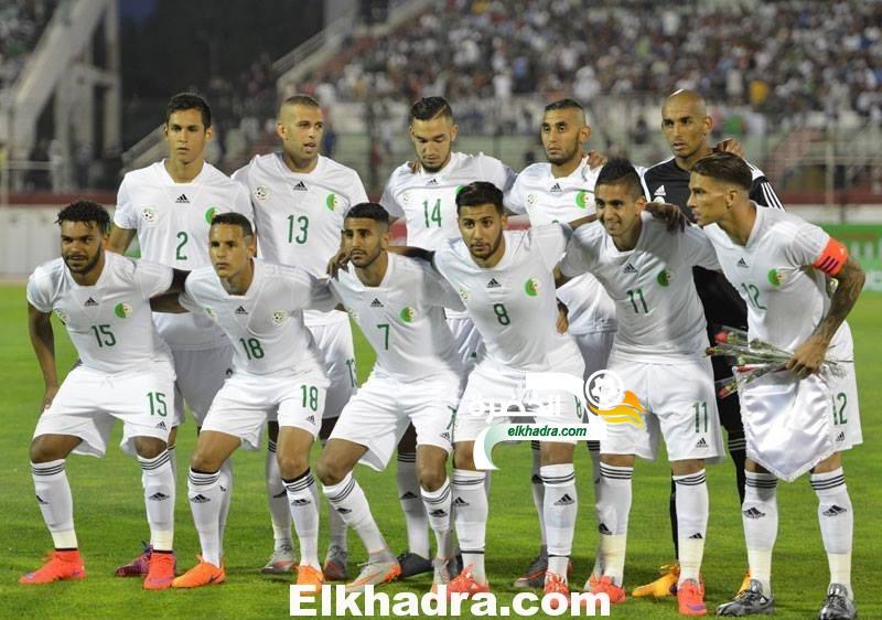 قائمة المنتخب الجزائري استعدادا لمواجهة تنزانيا 28