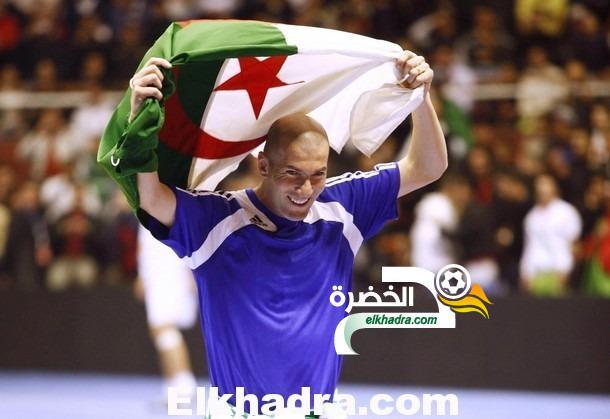 """زيدان: """"مباراة الجزائر وفرنسا ستكون تاريخية"""" 24"""