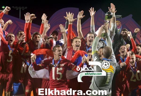 صربيا تتوج بلقب كأس العالم للشباب تحت 20 عاما 25