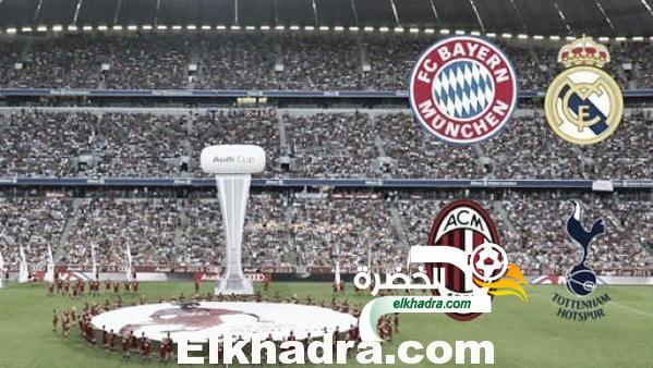 بن طالب يواجه ريال مدريد في افتتاح كأس أودي 4 أوت في المانيا 31
