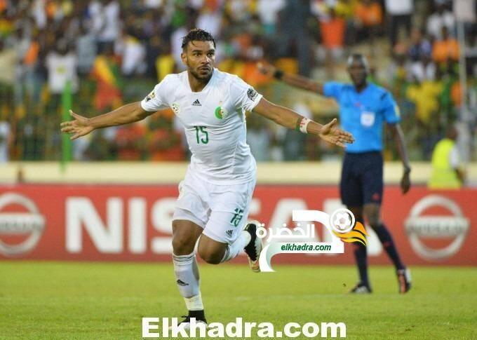 طاقم تحكيم كاميروني بقيادة أليوم نيون لادارة مباراة الجزائر- تنزانيا 25
