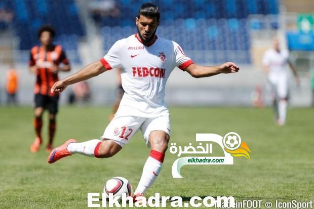 فارس بهلولي يسجل مشاركته الثالثة على التوالي بألوان ناديه الجديد موناكو 26