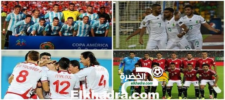 المنتخب الجزائري يواصل تربعه على عرش الكرة العربية و الافريقية 32