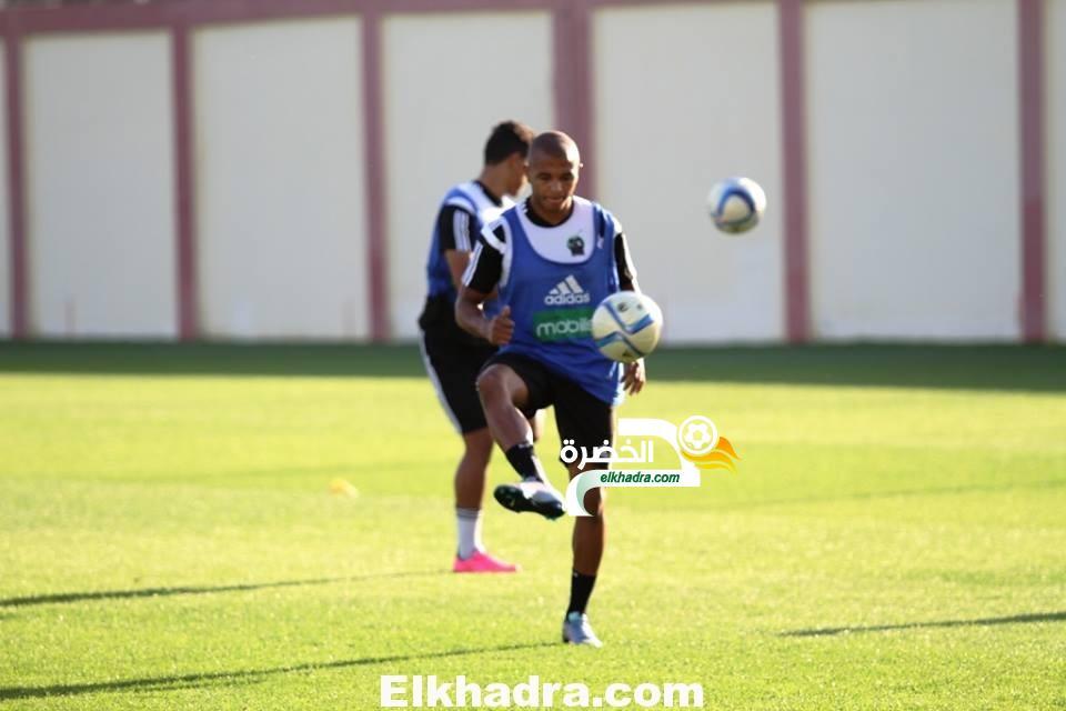 بالصور .. تربص المنتخب الجزائري قبل مباراة السنغال 31