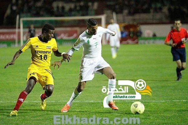 الجزائر وإثيوبيا يوم 25 مارس بالبليدة (تصفيات كأس إفريقيا 2017) 1