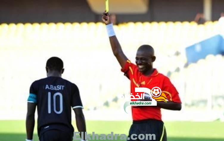 الحكم السنغالي الدولى مالانج ديدهيو لإدارة مباراة منتخب الجزائر ومصر الأولمبي 3