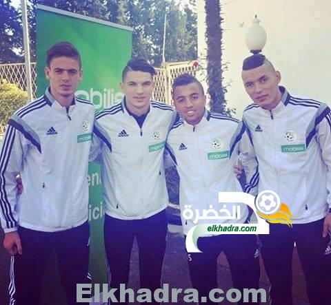 المنتخب الجزائري الأولمبي يتنقل الى دكار للمشاركة في كان 2015 8