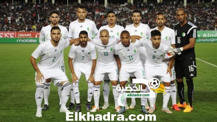 التشكيلة الأساسية لـ الجزائر  أمام تانزانيا 30