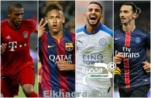 رياض محرز ضمن افضل 10 لاعبين في الدوريات الاوروبية حاليا 33
