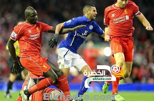 محرز و ليستر متصدران للدوري الانجليزي رغم الهزيمة امام ليفربول 30