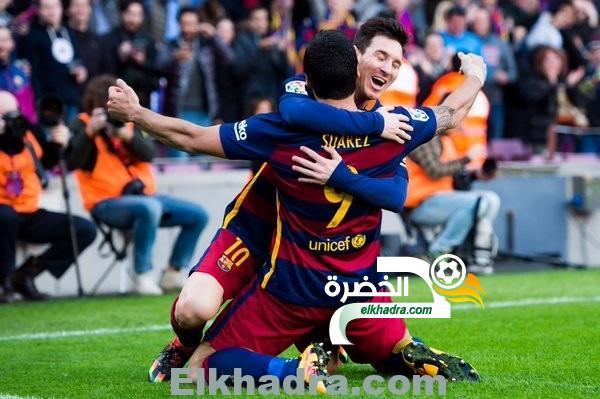 برشلونة يجدد تفوقه على أتلتيكو مدريد 2-1 وينفرد بصدارة الدوري الأسباني 33