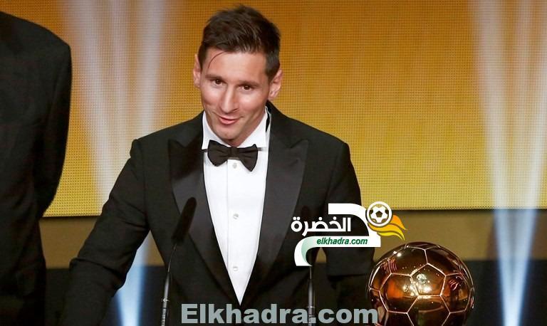 ميسي يتوج بالكرة الذهبية لأفضل لاعب في العالم لعام 2015 24