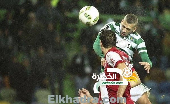 سليماني يسجل الهدف 13 في الدوري البرتغالي ليقود لشبونة للفوز على براجا 33