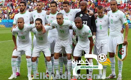 الجزائر في المستوى الاول لقرعة الدور التصفوي الأخير لمونديال 2018 1