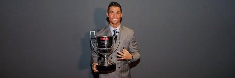 كريستيانو رونالدو نجم فريق ريال مدريد الإسباني
