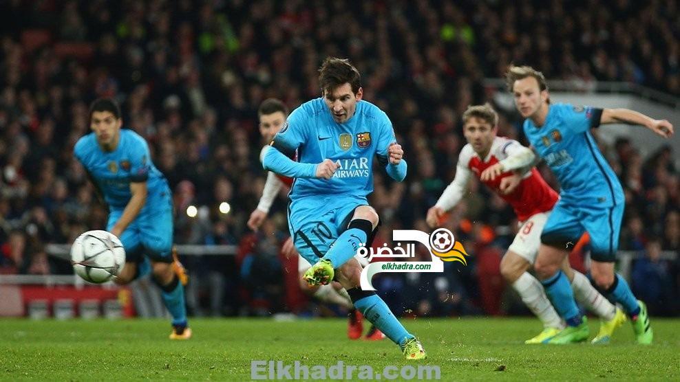 برشلونة يحقق الفوز على ارسنال في ذهاب دوري أبطال أوروبا بنتيجة 2-0 30