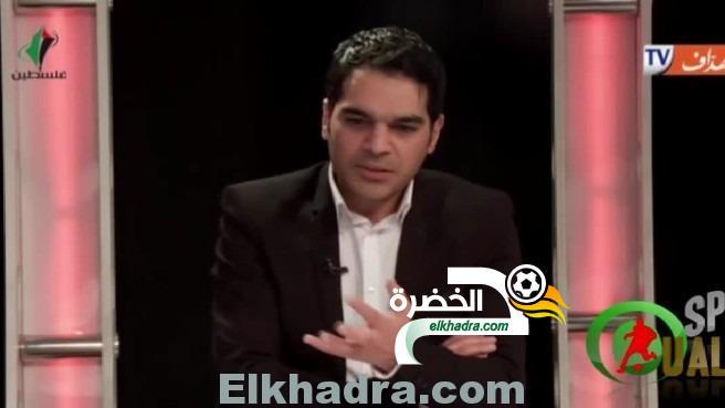 الاعلامي جهاد سيف الى من يقول محرز لاعب عادي فليفتح صحف انجلترا 1