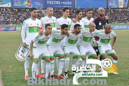 ترتيب الفيفا جوان 2016 : الجزائر تتقدم إلى المرتبة الـ32 عالميا وتحافظ على الصدارة إفريقيا 26