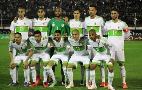 المنتخب الجزائري 2016