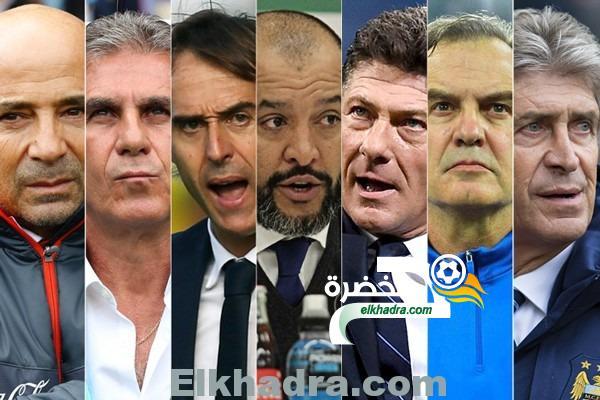 """سبعة مدربين """"عالميين"""" في سباق مفتوح  لقيادة المنتخب الجزائري 26"""