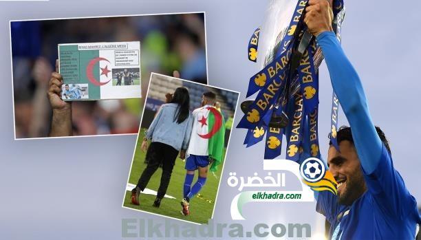 رياض محرز يتصدر الواجهات الأولى للصحافة الرياضية الجزائرية 29