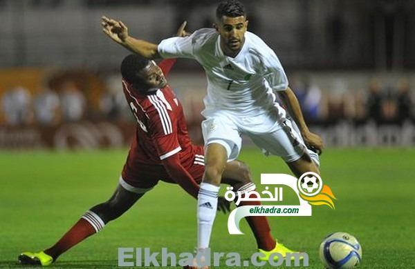 الجزائر و الليزوطو : طاقم تحكيم من غينيا كوناكري لإدارة المباراة 4