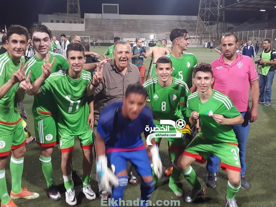 تصفيات كأس افريقيا للأمم 2017 (u17): الجزائر تفوز على ليبيا وتتأهل الى الدور الثاني 10