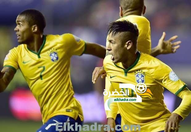 نيمار في التعادل بين منتخبي البرازيل ونيجيريا 24