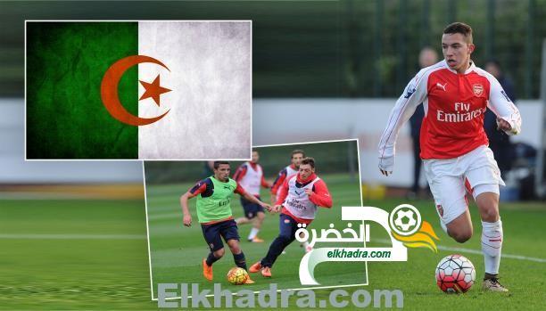 إسماعيل بن ناصر لاعب أرسنال الإنجليزي يؤهل رسميا للإلتحاق بالمنتخب الجزائري 1