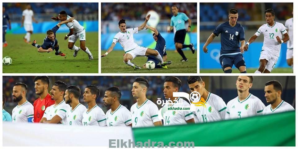 المنتخب الجزائري يودع أولمبياد ريو 2016 بالخسارة من الأرجنتين 10