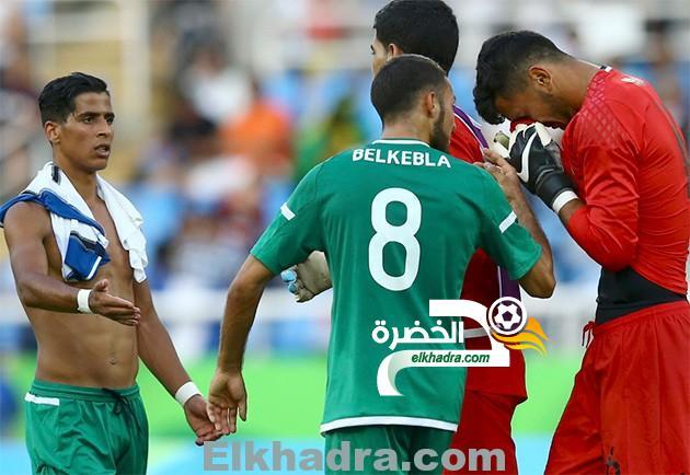 ريو 2016 : المنتخب الجزائري يتلقي خسارة مفاجئة 2 / 3 أمام منتخب الهندوراس 1