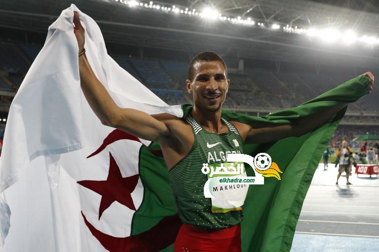 توفيق مخلوفي أحسن رياضي في الجزائر لعام 2019 29
