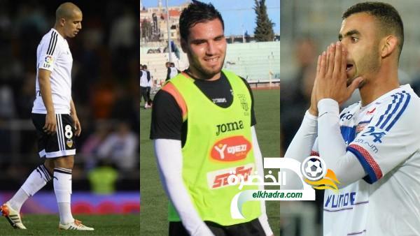 قائمة اللاعبين الجزائريين الـ 23 المعنيين بمباراة اللوزوطو 1