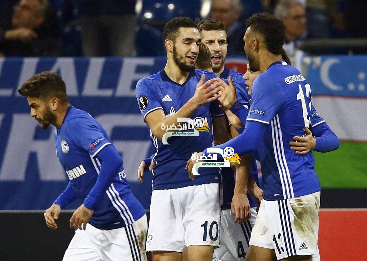 البوندسليغا : شالكه يفوز علي فولفسبورج بهدف وحيد سجله ليون غوريتسكا 1