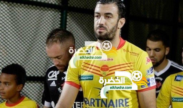 بالفيديو .. السعيد بلكالم يسجل أول هدف له في بطولة الرابطة الثانية الفرنسية 33
