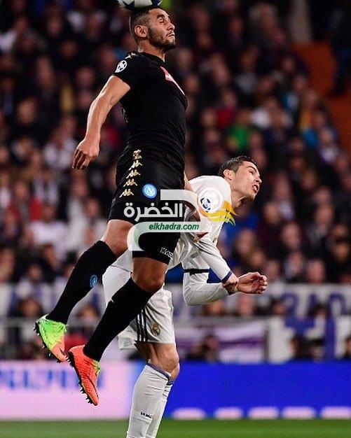 غولام يسقط مع نابولي بثلاثية امام ريال مدريد 27