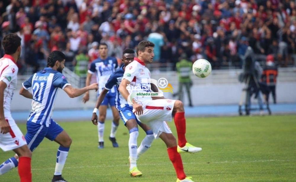 الوداد البيضاوي يفوز على إتحاد طنجة ويقترب من حسم لقب الدوري المغربي 33