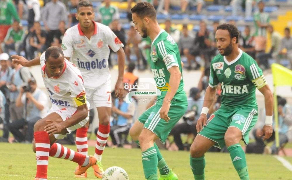 الوداد البيضاوي يحسم ديربي المغرب بالفوز أمام الرجاء 34