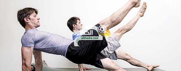 تمارين بيلاتس العالمية لتقوية عضلات البطن والظهر بأسرع وقت ممكن 42