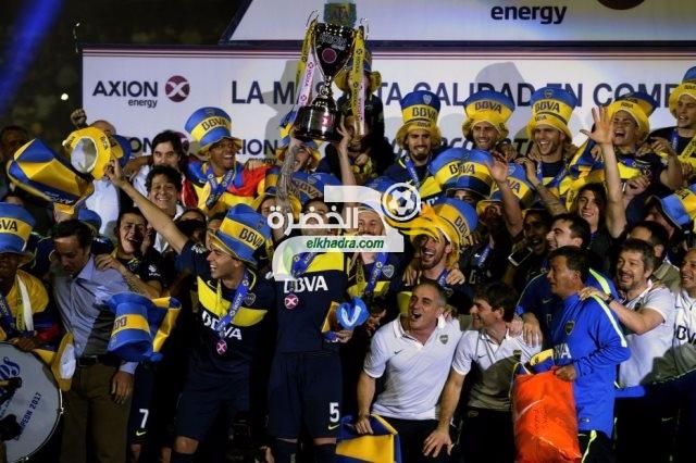 بوكا جونيورز يتوج بلقب الدوري الأرجنتيني عقب الفوز على يونيون سانتا 33
