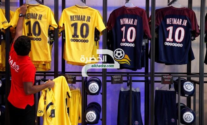 مليون يورو دخل أول يوم لبيع قمصان نيمار مع سان جيرمان 24